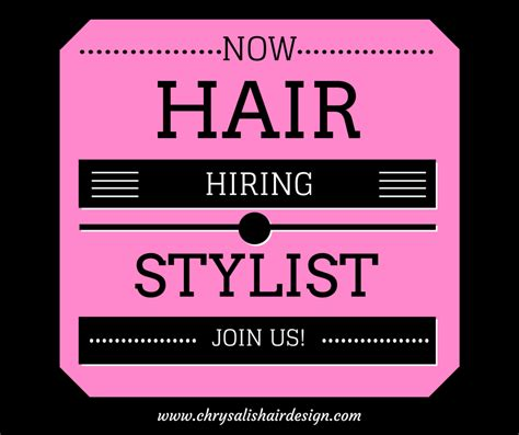Friseurin Gesucht by Image Gallery Stylist Wanted