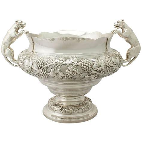 Silver Decorative Bowl by Antique George V Sterling Silver Presentation Bowl For
