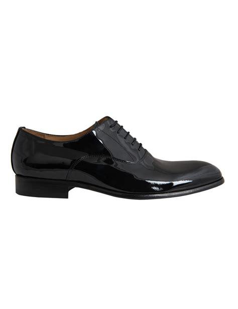 Lace Up Patent Shoes s black patent lace up dress shoe hawes curtis
