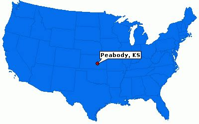 Peabody, Kansas City Information   ePodunk