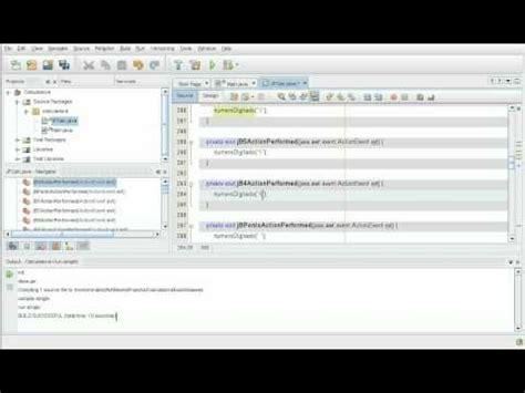 video tutorial java netbeans video tutorial netbeans e java construindo uma calculadora