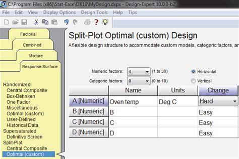 design expert tool design expert 11 design expert