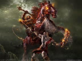 gods of war kratos horse god of war photo 1481671 fanpop