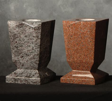 Granite Flower Vases by Roquemore Marble And Granite Specialty Flower Vases