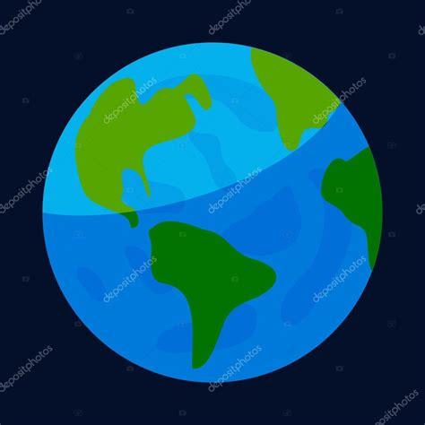 imagenes extraordinarias del planeta tierra icono del planeta tierra estilo de dibujos animados