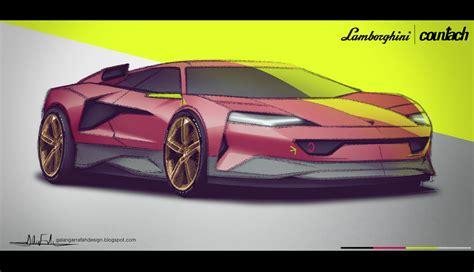 Ga Lamborghini by Ga Ang Lamborghini Countach Concept