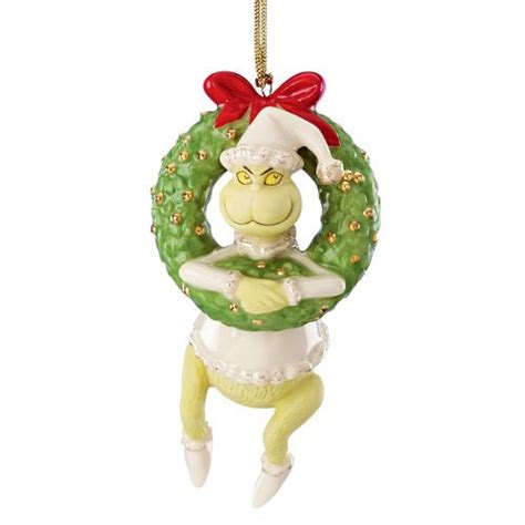 2015 lenox grinch sounding the horn porcelain christmas