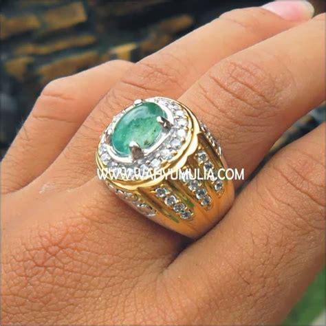 Emerald Jamrud Zamrud batu permata emerald beryl kode 107 batu permata