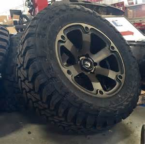 Truck Rims And Tires In Canada 20 Quot Fuel Beast D564 Black Wheels Rims And 35 Quot Toyo Mt