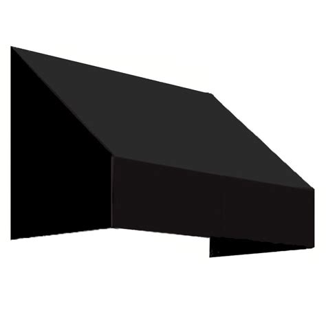 awnings san francisco awntech 4 ft san francisco window entry awning 18 in h x 36 in d in black en1836