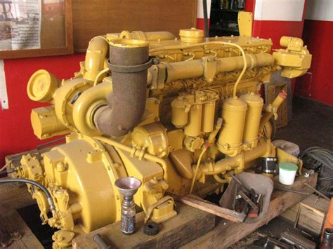 engine caterpillar  spare parts  machinery