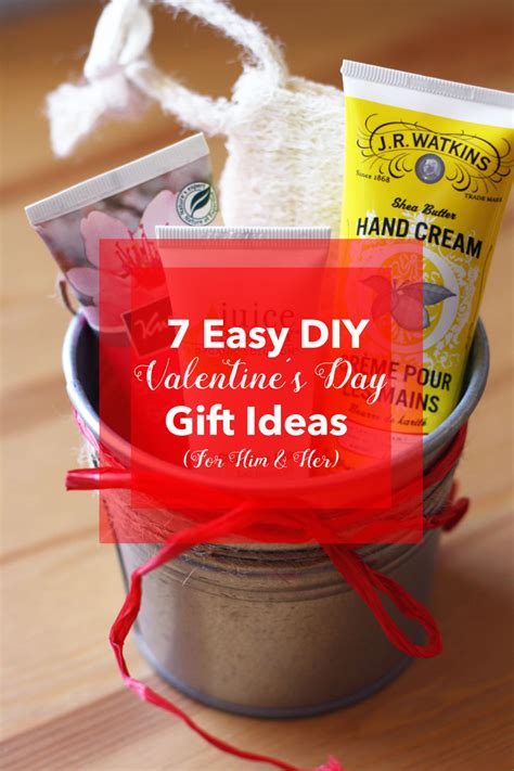 simple gift for s day 7 easy diy valentine s day gift ideas for him