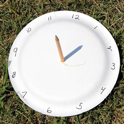 How To Make A Sundial With A Paper Plate - 40 and fantastic paper plate crafts