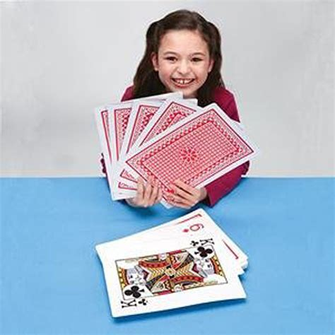 big cards jumbo cards 8 x 12 inch size and print new