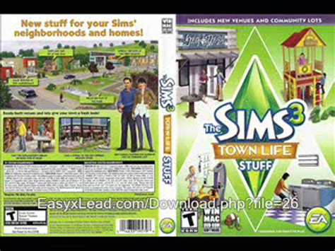the sims 3 town life stuff pack free game download free download file free sims 3 stuff ggettthai