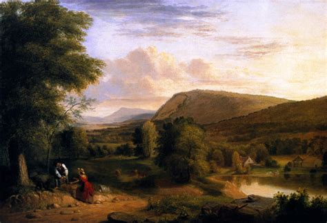 Landscape Composition Asher Brown Durand