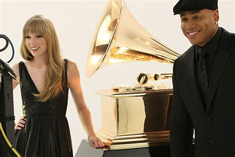 Silly Makeup At The Grammys by Joins Ll Cool J In Grammy Ads