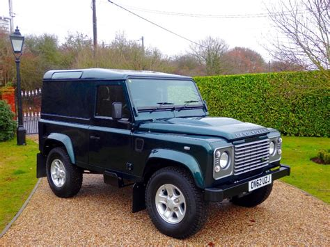 green land rover defender used aintree green land rover defender for sale essex