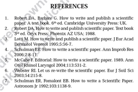 how to write references for research paper improbable research 187 archive