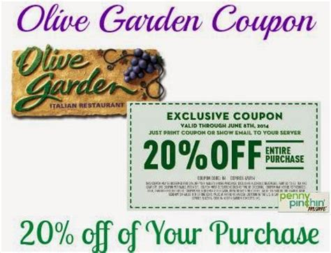 Olive Garden Coupons January 2016 | olive garden printable coupons february 2016