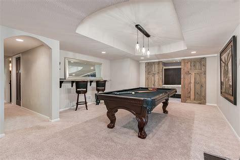 basement tables crosscroft basement pool table finished basement company