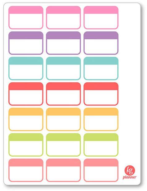 printable planner boxes label half box planner stickers for erin condren planner