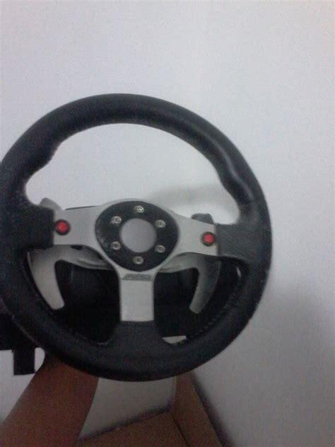 volante logitech pc volante logitech g25 pc ps3 r 500 00 em mercado livre