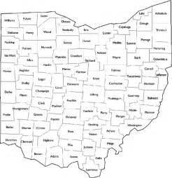 county map printable ohio county maps free printable maps