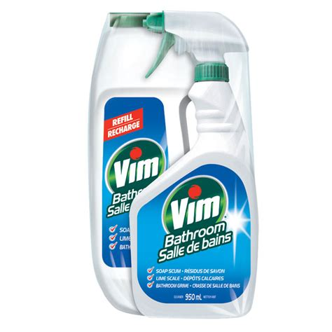 best cleaning product for bathtub cleaner quot vim quot bathroom cleaner rona