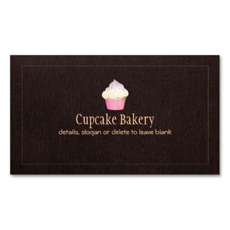 pastry chef business card templates 1000 images about bakery business cards on
