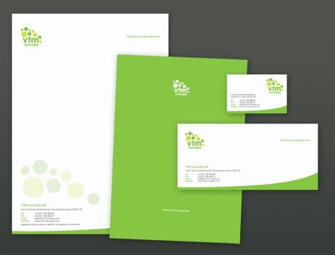 great design header 15 cool stationery designs letterhead design pinterest