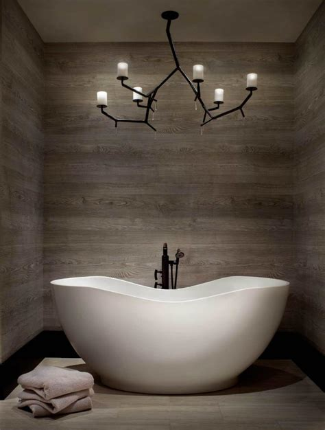 bathroom ideas with tub looking at a view luminaire salle de bains 30 belles photos et bons conseils
