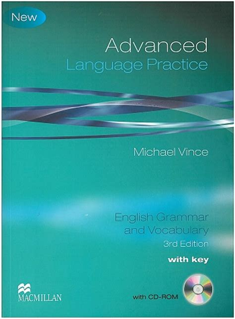 language practice new edition advanced language practice 3rd edition 2009 book cd rom
