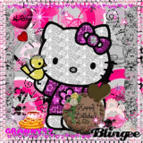 wallpaper hello kitty gif hello kitty happy birthday graphics cliparts sts auto