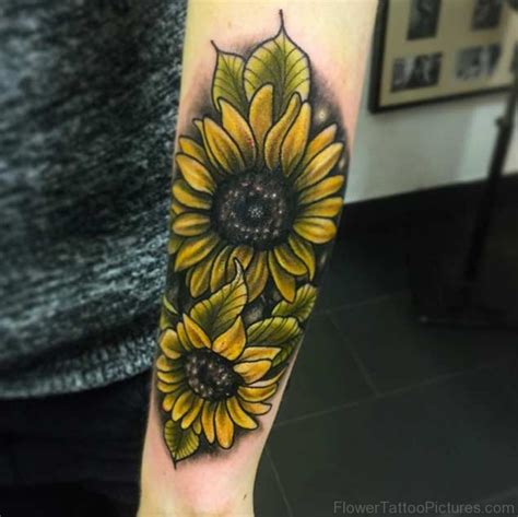 sunflower sleeve tattoo 65 amazing sunflower tattoos