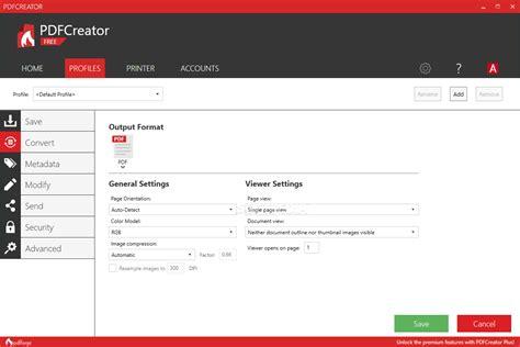 pdfcreator  build