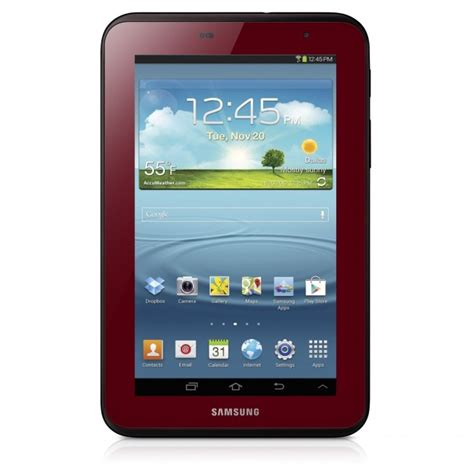 Samsung Tablet 2 7 Inch samsung galaxy tab 7 0 in garnet for s day
