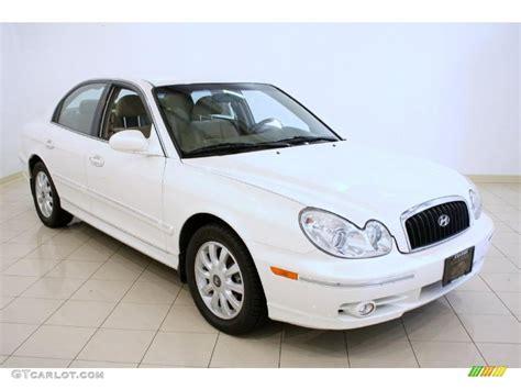 hyundai lx 2003 white pearl hyundai sonata lx v6 37322426 gtcarlot