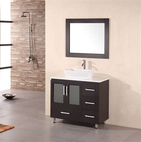 bathroom vanity contemporary bathroom vanity ideas vessel stanton 36 inch modern bathroom vanity vessel sink
