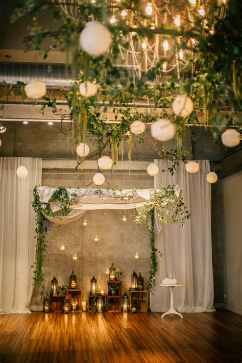 Chic Wedding Decor by Beautiful And Stylish Wedding Hanging Decorations