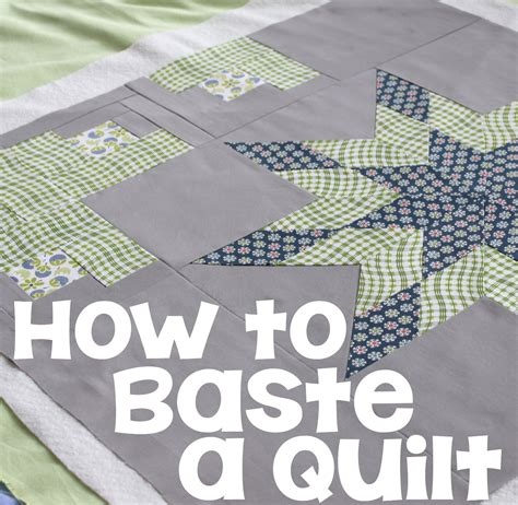 Quilt Basting by How To Baste A Quilt The Crafty Mummy
