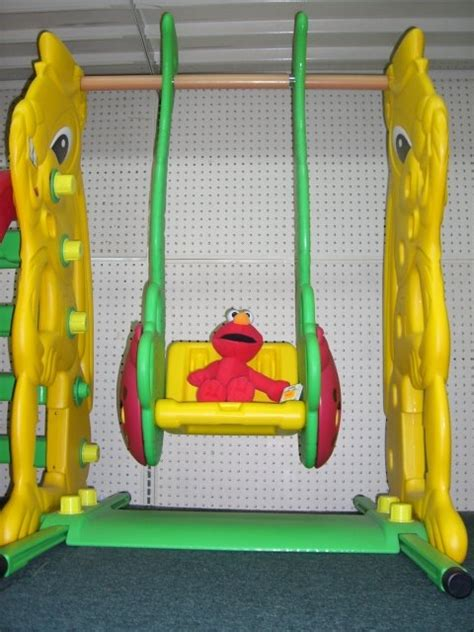 elmo baby swing land of a t h o u s a n d words