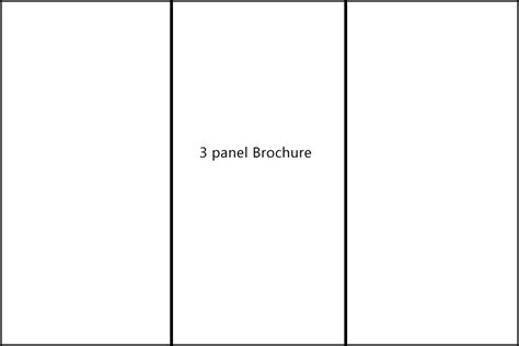 3 Panel Brochure Template by 3paneltemplate Plane Jpg