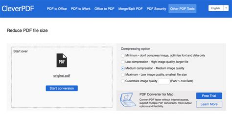 compress pdf medium cleverpdf offers 19 online pdf tools for free ereader palace