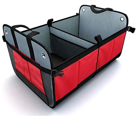 car trunk storage containers trunk organizer travel suv car truck rear backseat