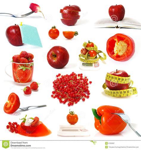imagenes de verduras rojas colecci 243 n de frutas y verdura rojas fotograf 237 a de archivo