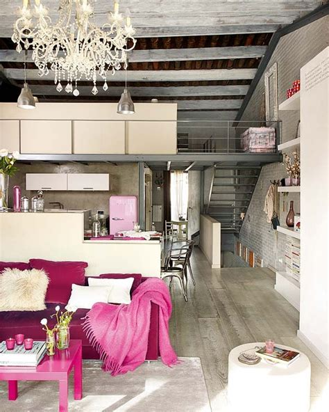 Vintage Interior Design Modern And Vintage Interior Design In Shades Of Pink Digsdigs