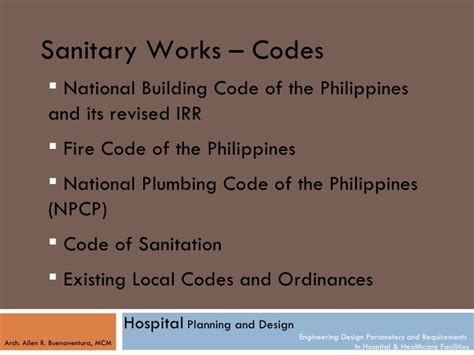 Plumbing Code Philippines by Engineering Design Parameters And Requirement For Hospitals
