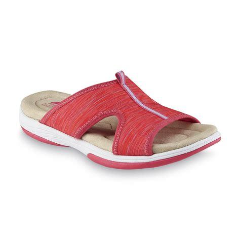 kmart womens sandals athletech s averley pink sport slide sandal