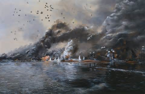 painting attack the quot negative quot side of naval history hamilton s